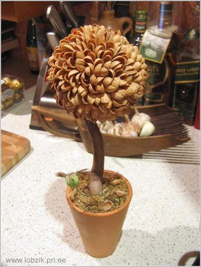 Поделки дерево из природных материалов